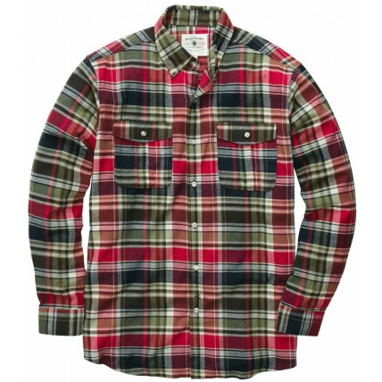The Wm. Lamb & Son Field Flannel - Red